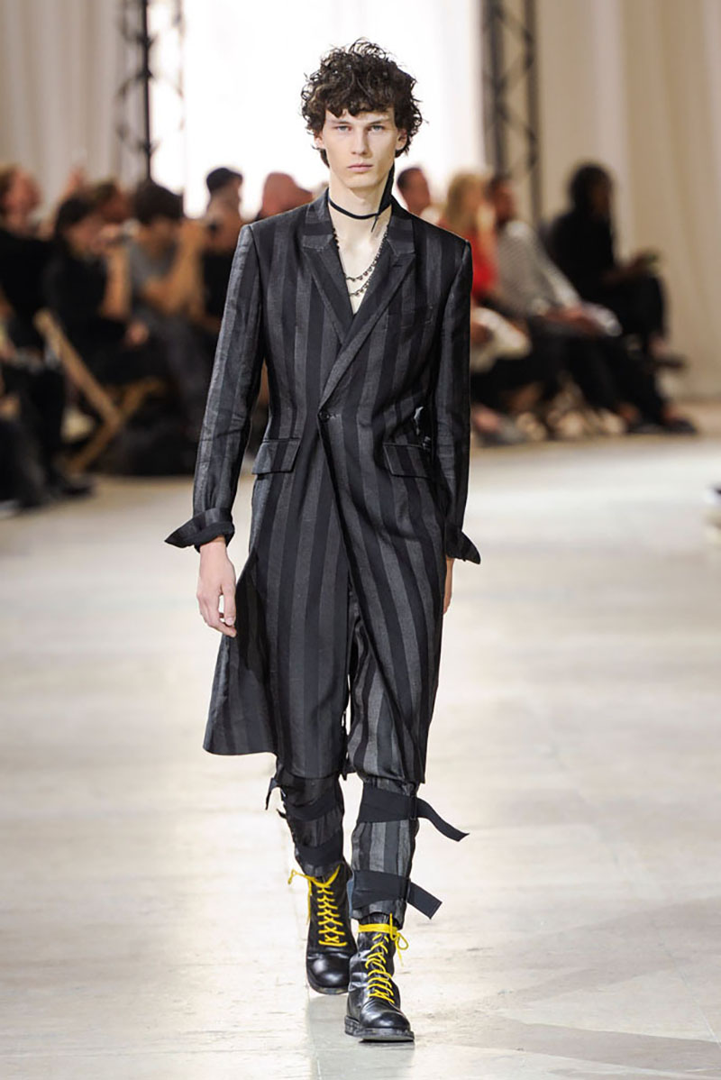 Ann Demeulemeenster show, spring summer 2017, Paris Men's Fashion Week, France - 24 June 2016