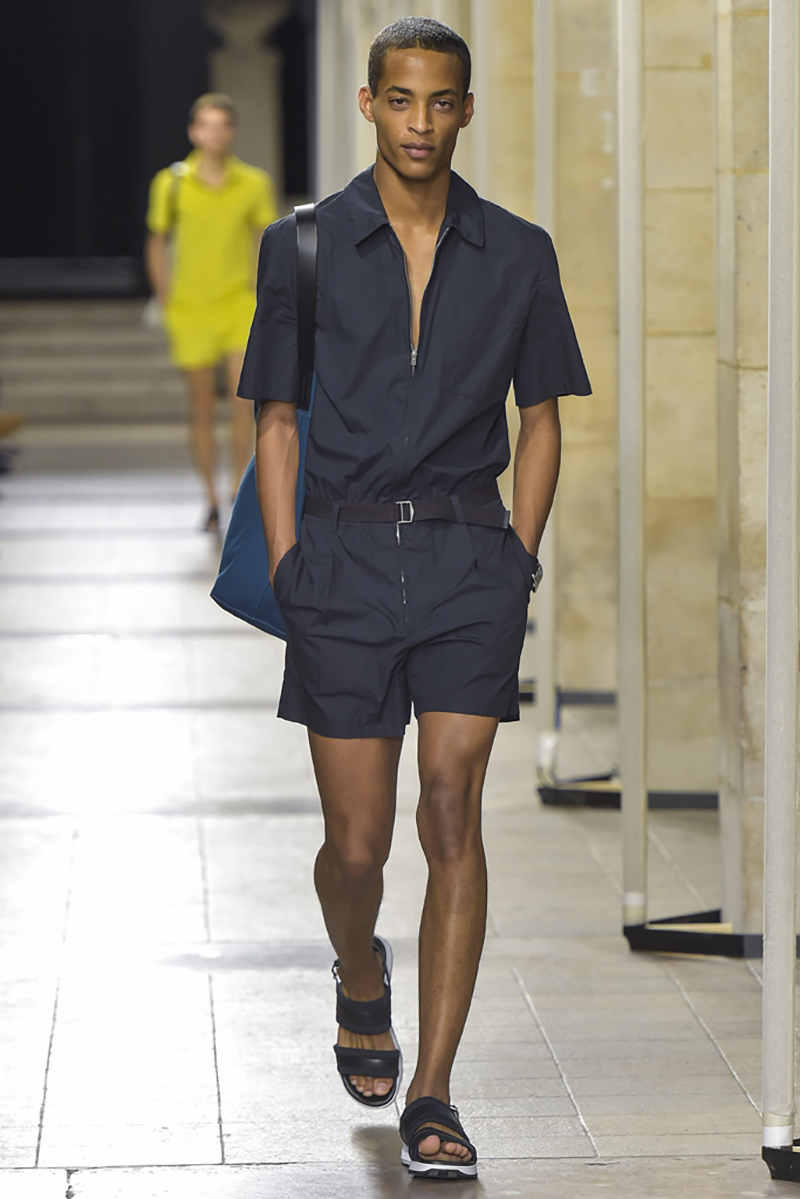 Hermes show, spring summer 2017, Paris Men's Fashion Week, France - 25 June 2016