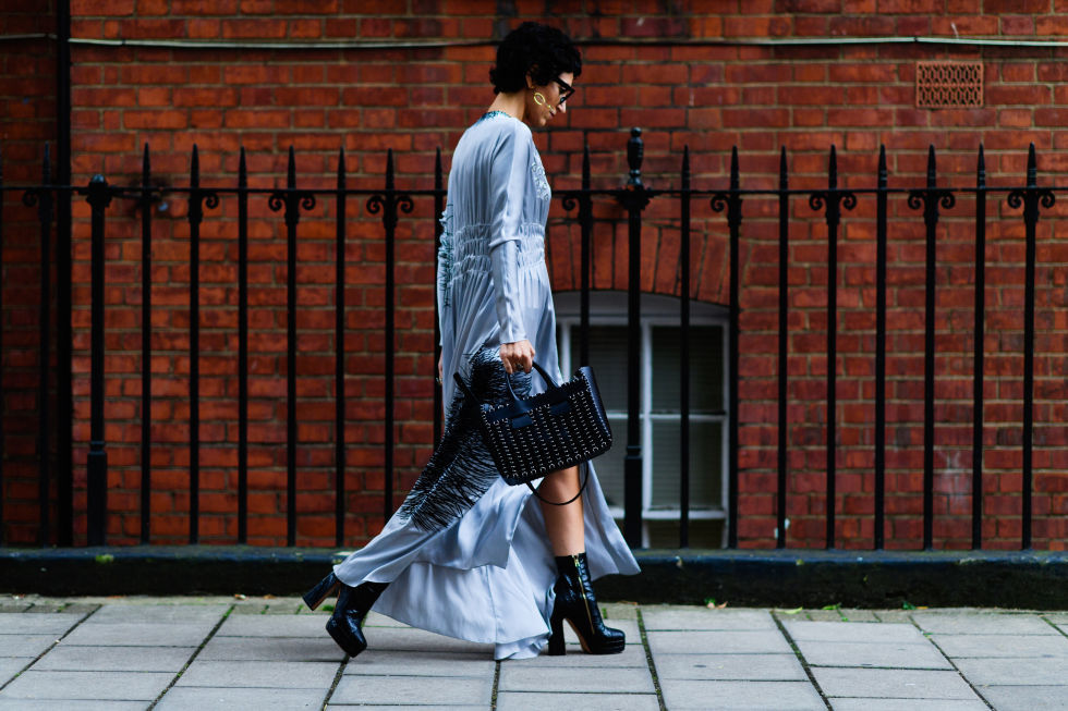 LFW SS17 Street Style