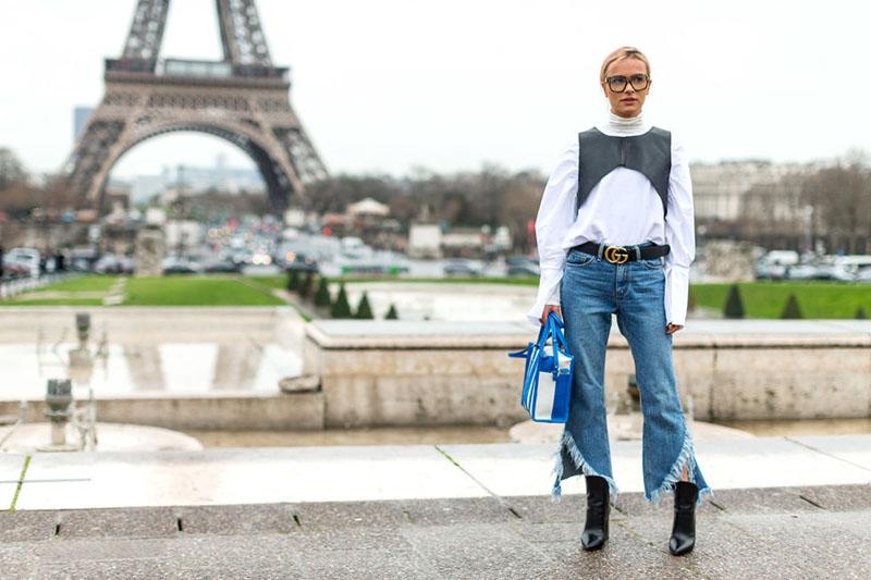 Paris Fashion Week Fall 2017 Street Style