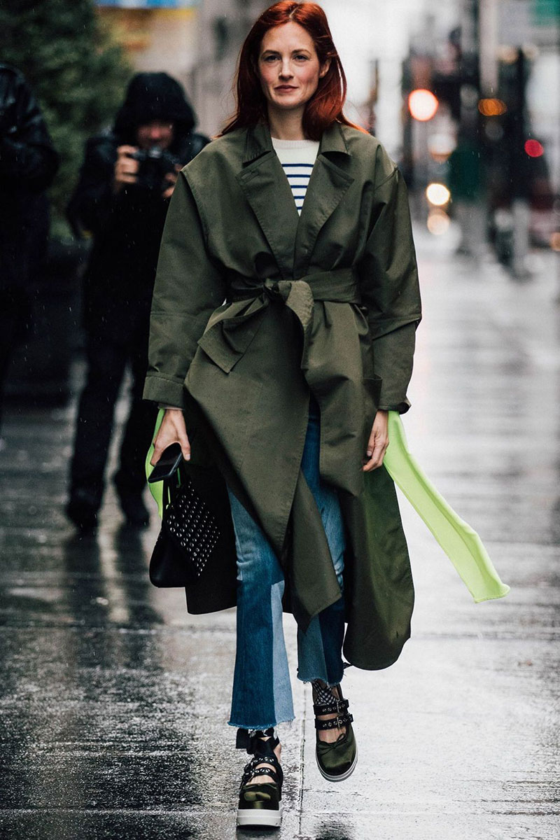 Five Ways To Wear The Trench Coat Trend For Spring