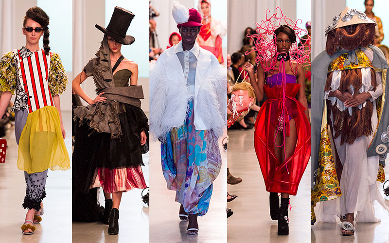 School of the Art Institute of Chicago Fashion Show 2017