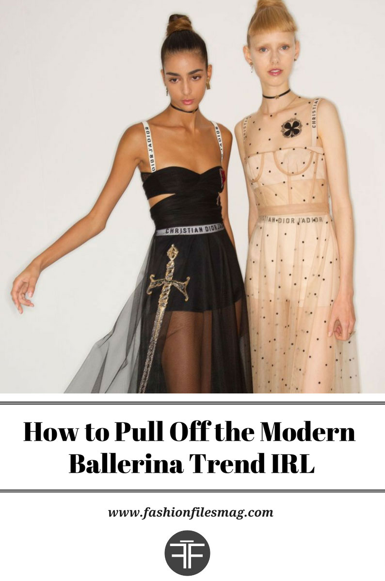 How to Pull Off the Modern Ballerina Trend IRL FashionFiles