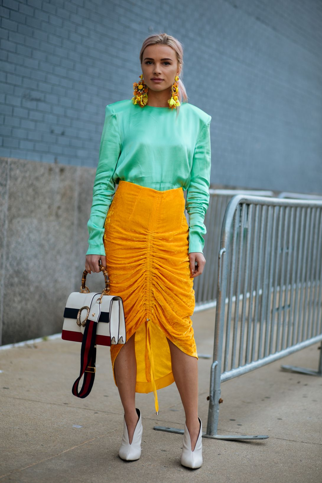 New York Fashion Week Spring 2018 - Street Style