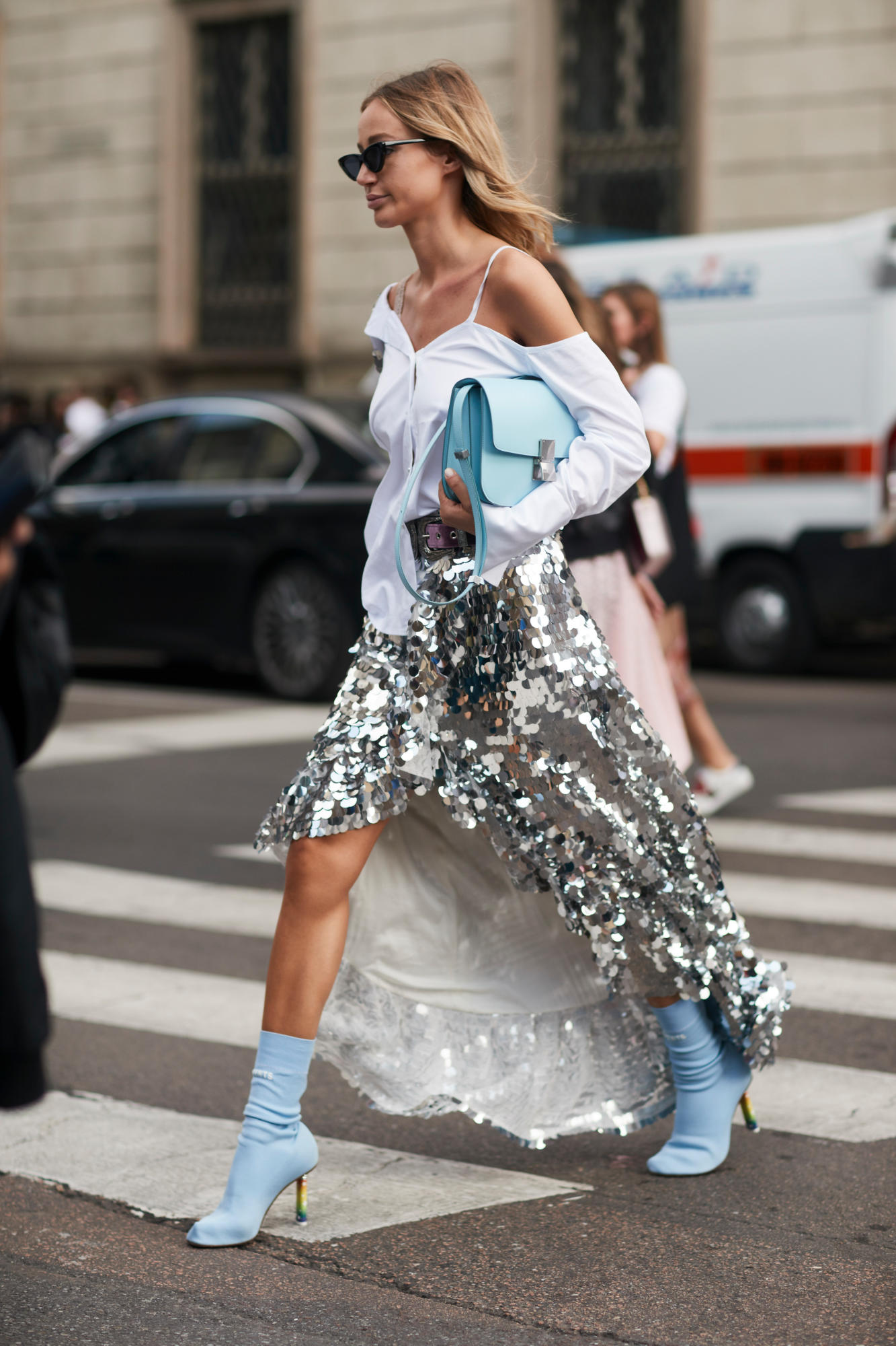 2018 Must Haves: Yes, The Milan Fashion Week Street Style Spring 2018 Was
