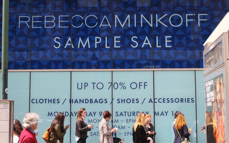 Rebecca Minkoff Sample Sale Chicago