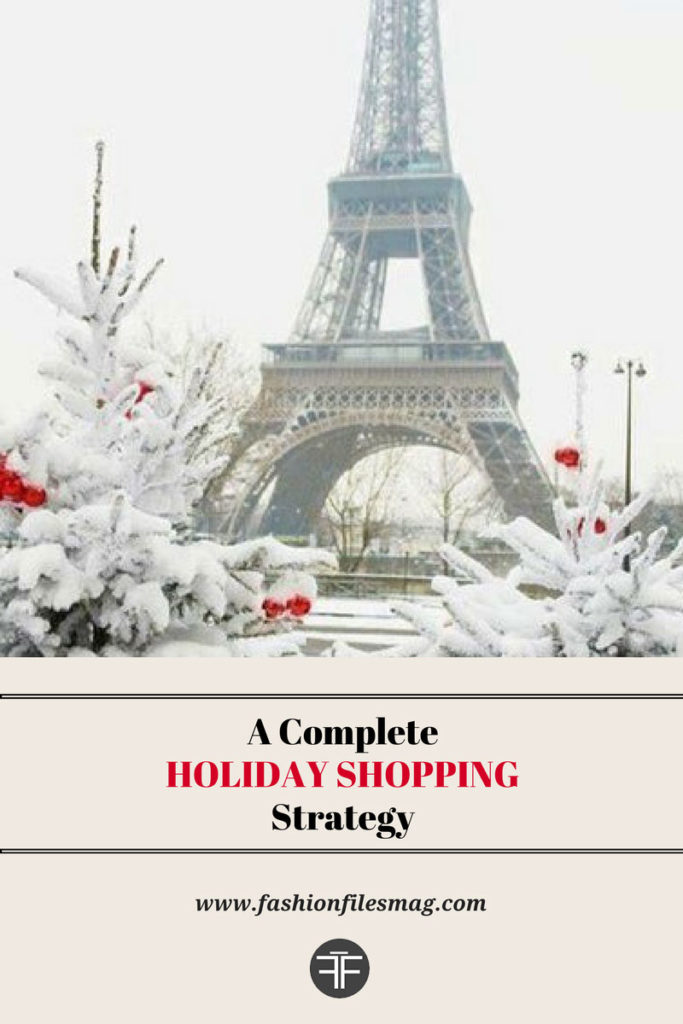 holiday shopping, holiday shopping strategy