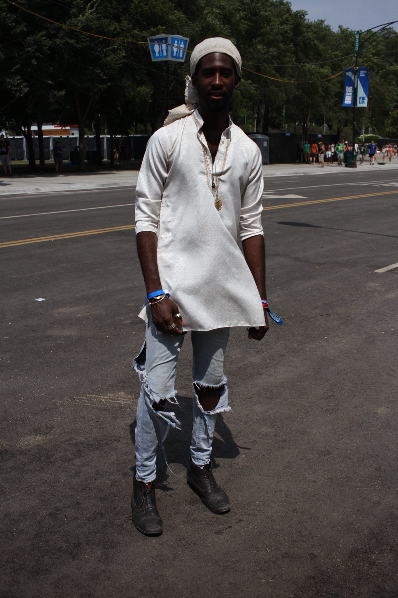 lollapalooza street style 2018 is here  fashionfiles