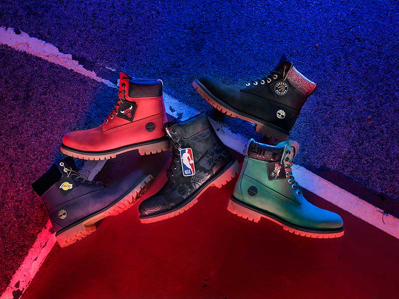 Timberland x NBA Releases Limitted Edition Boot Collection